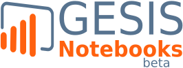 To GESIS Notebooks Homepage